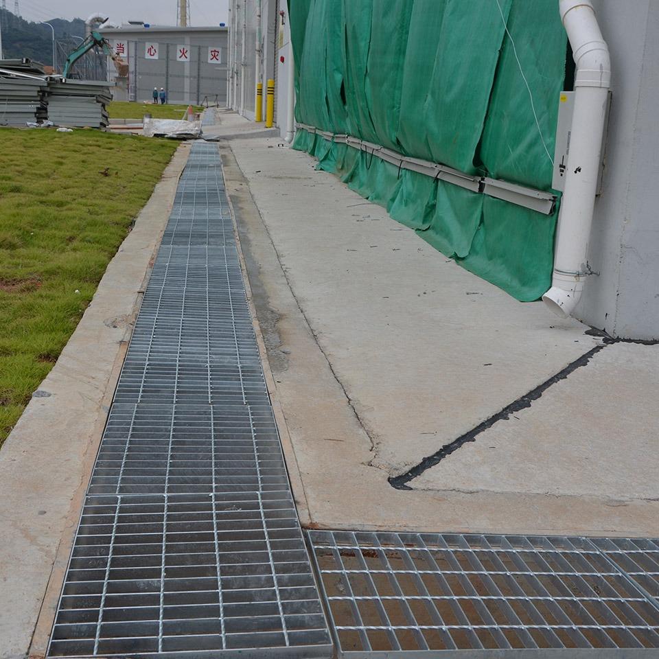市政道路应用钢格板案例