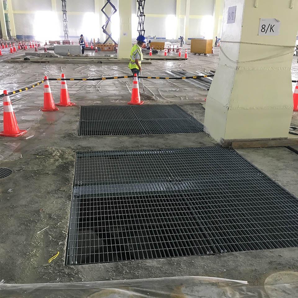 地下室钢格板应用案例