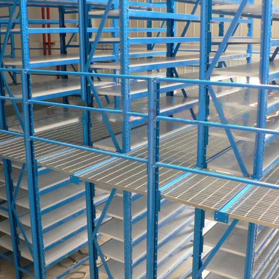 仓库货架钢格板应用案例