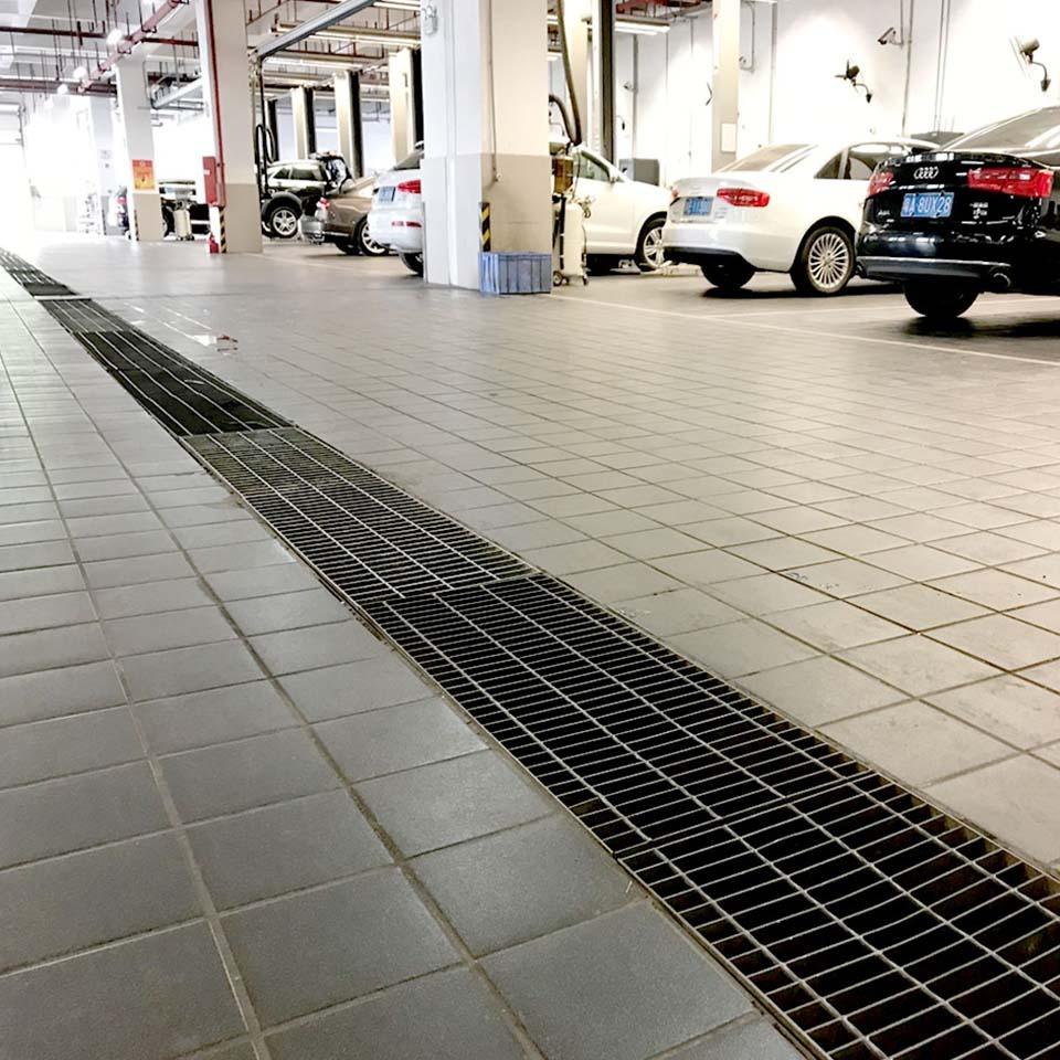 响达钢格板汽车4S店应用案例